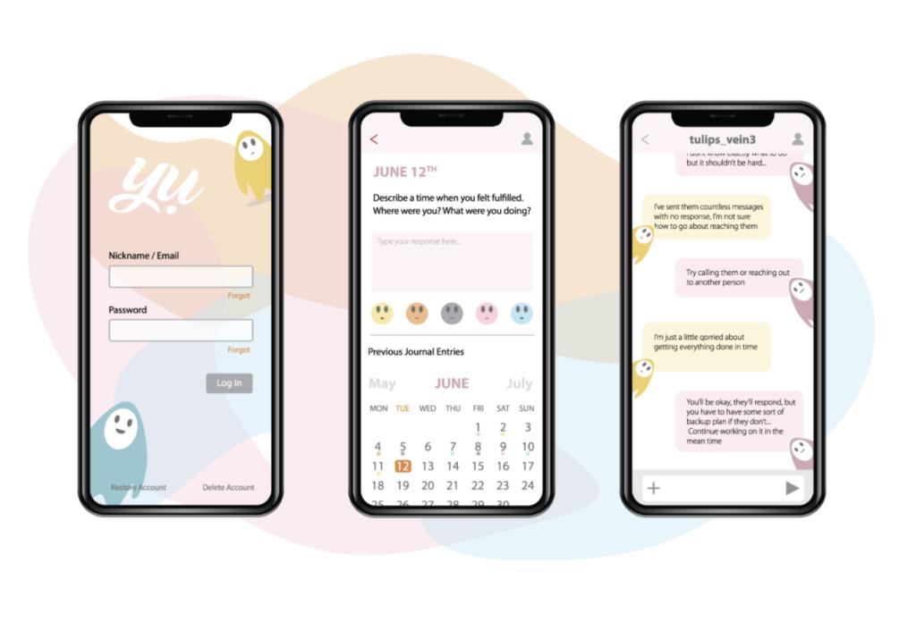 """Yu"" mobile app by Shayla Merrill"